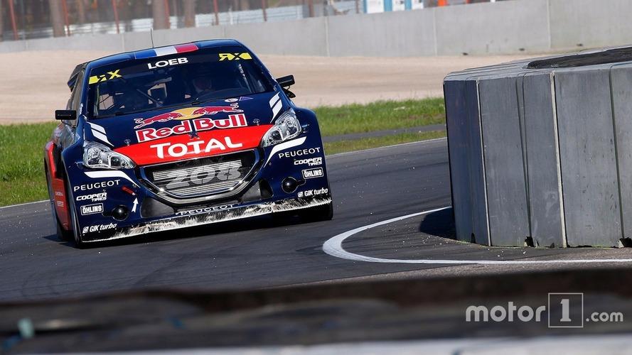 Sébastien Loeb remporte sa première victoire en rallycross