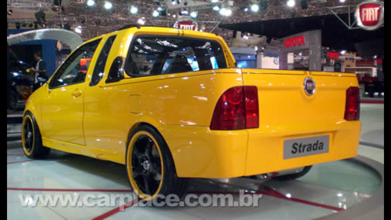 Salão do Automóvel 2008 - Fiat mostra Strada com motor 1.8 Turbo de 300 cv!!