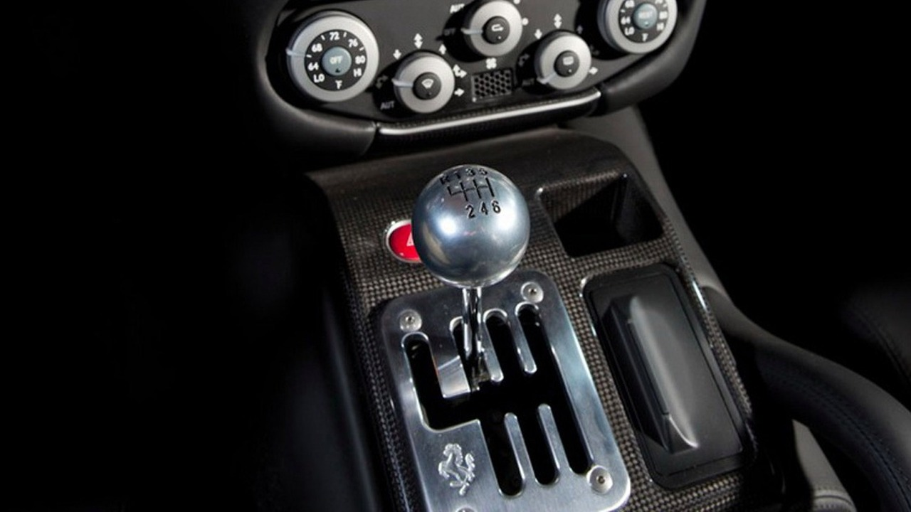 Ferrari boite manuelle