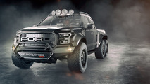 Hennessey VelociRaptor 6x6 est un pick-up à 6 roues de 600 ch