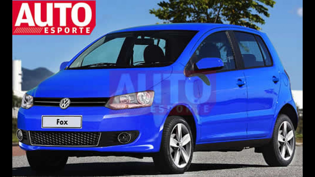 Novo VW Fox 2010 chega em julho - AutoEsporte mostra como será o visual