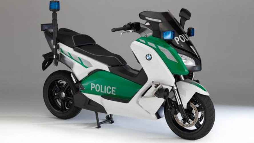 BMW C evolution Polizia al Milipol 2013