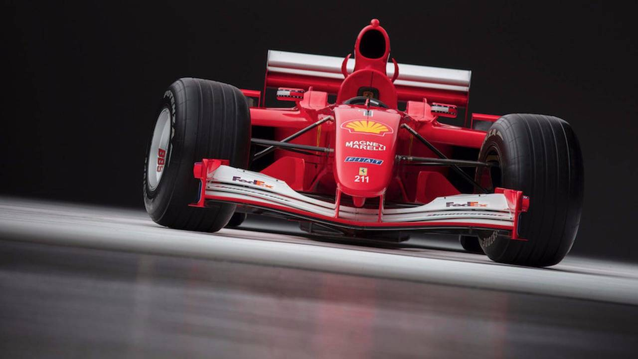 Ferrari F2001 de 2001 (Michael Schumacher)
