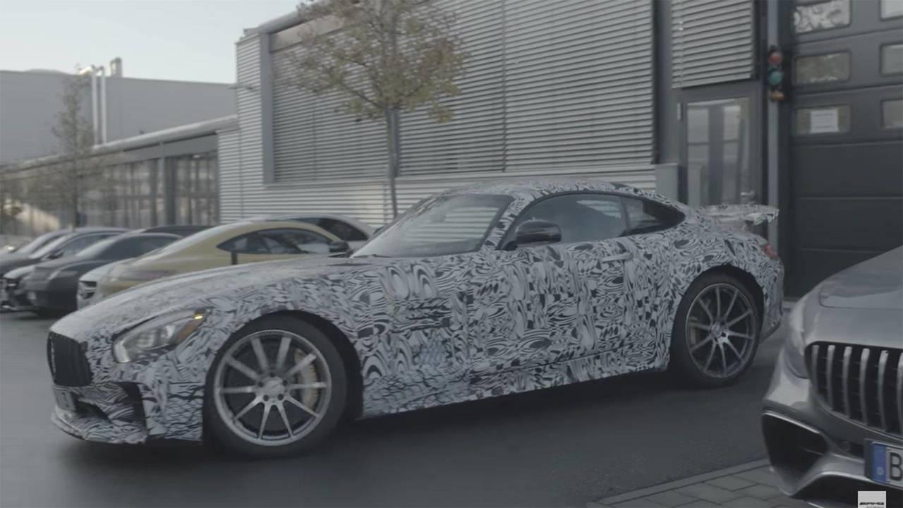 Hotter Mercedes-AMG GT R Teaser
