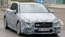 2018 Mercedes-AMG A35 spy photo