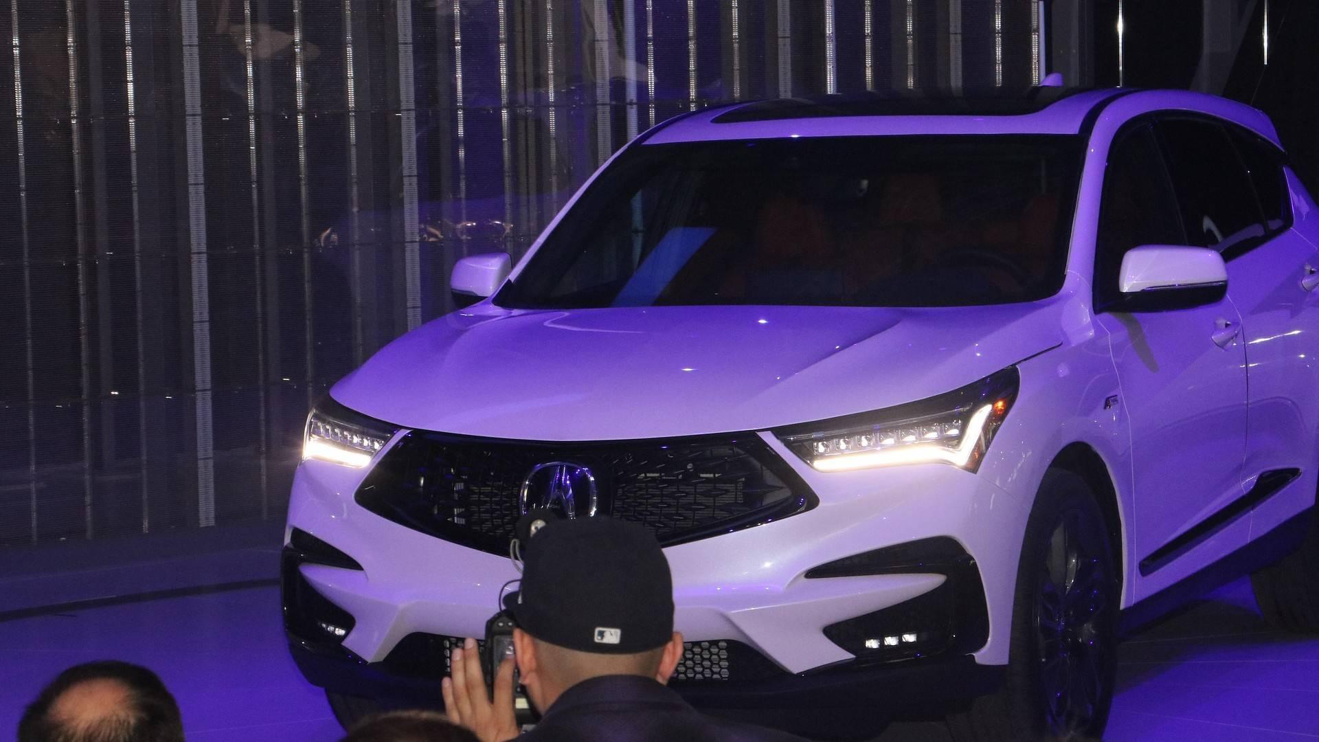 2019 Acura Rdx Rides On New Platform Not Related To Honda Cr V