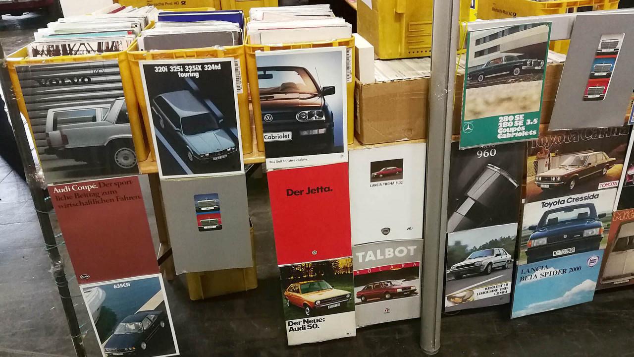 Techno Classica 2018: Passendes Papier