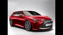 Nuova Lexus CT, il rendering 007