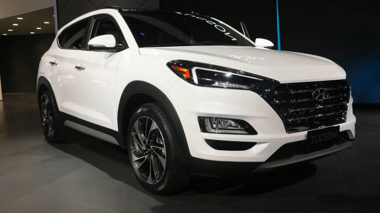 2019 Hyundai Tucson at the 2018 New York Auto Show