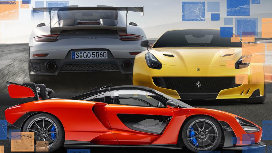 Die Autos mit dem besten Leistungsgewicht