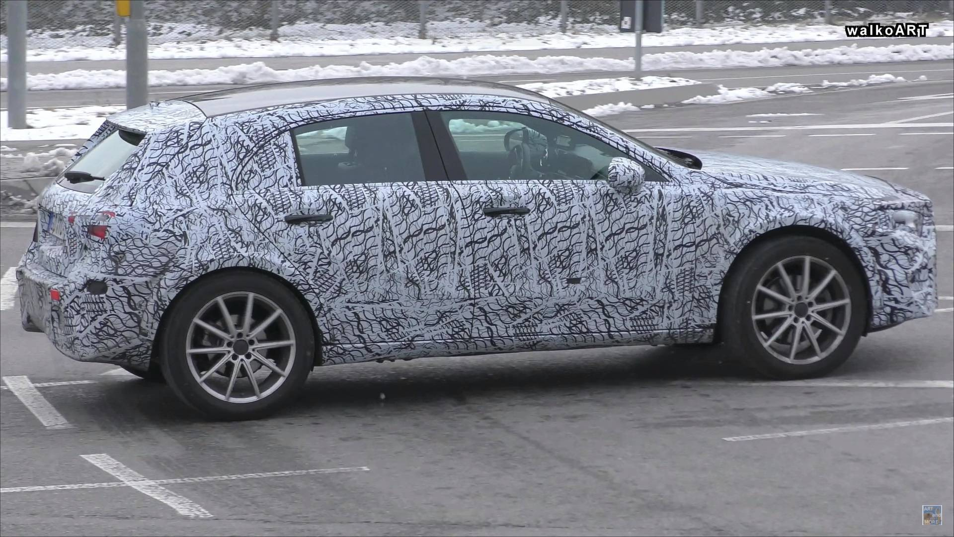 New Mercedes Gla Spied Looking Like An A Class On Stilts
