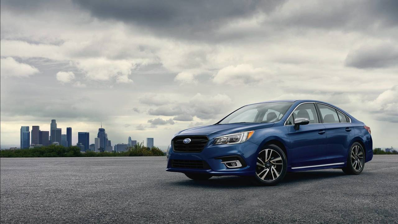 3. Midsize Car: Subaru Legacy.