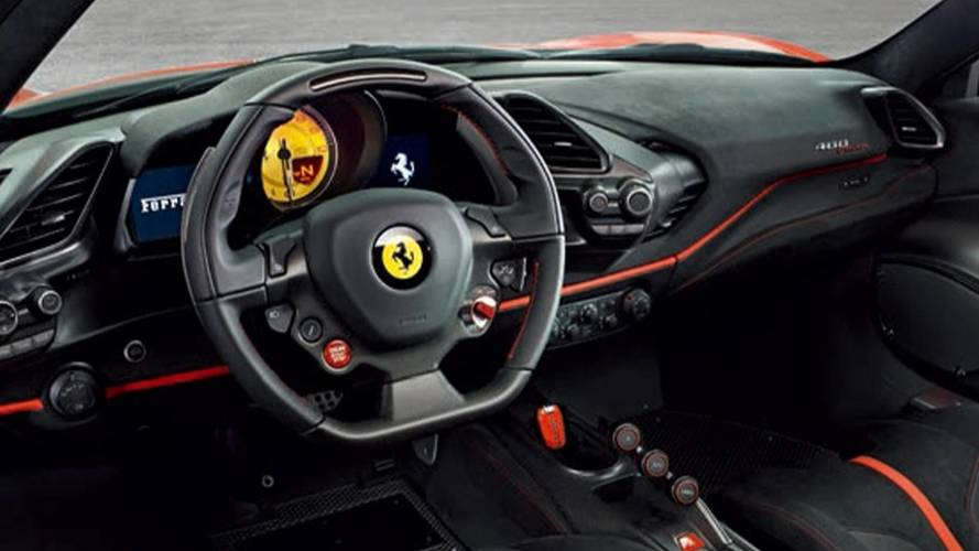 Ferrari 488 Pista - Imagens vazadas
