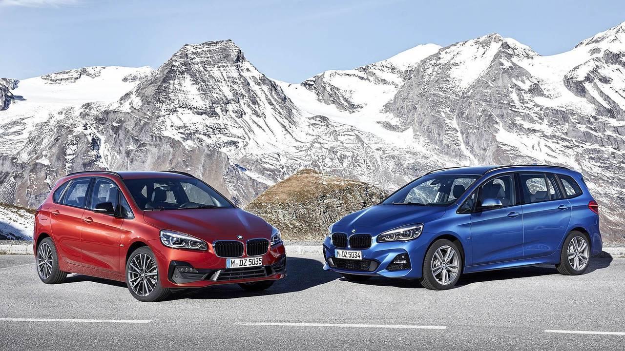 BMW Serie 2 Active Tourer y Gran Tourer