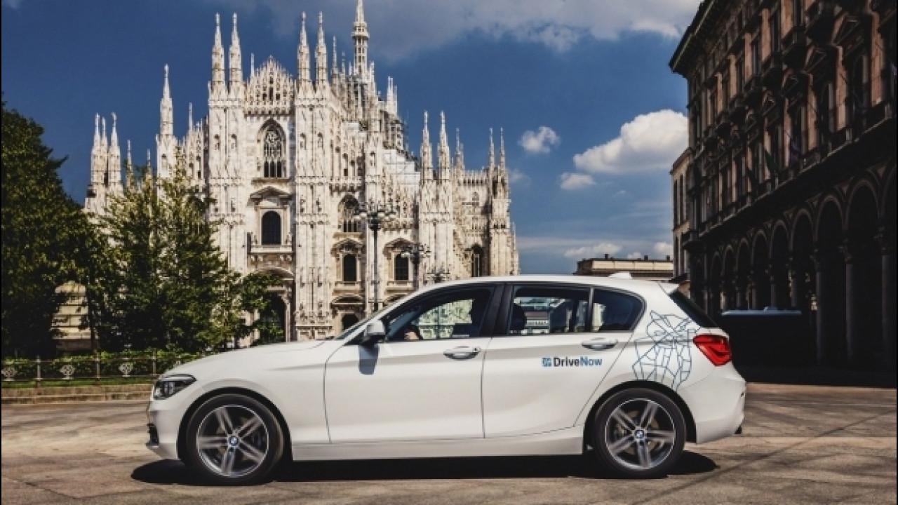 [Copertina] - Car sharing DriveNow, l'Italia segna il record europeo