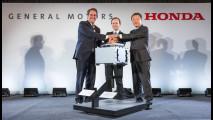Honda e GM, insieme per lo sviluppo del motore ad idrogeno
