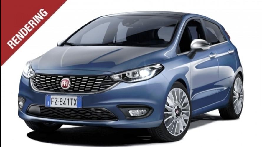 Nuova Fiat Punto, con la faccia da