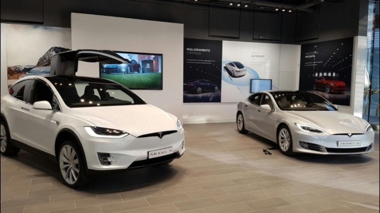 [Copertina] - Tesla, inaugurato a Milano il nuovo flagship store