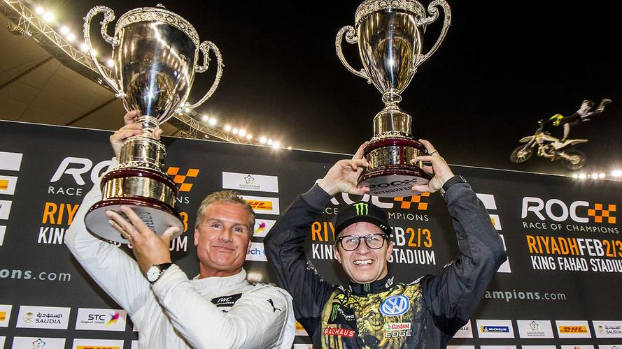 Race Of Champions: David Coulthard Defeats Petter Solberg To Earn Title