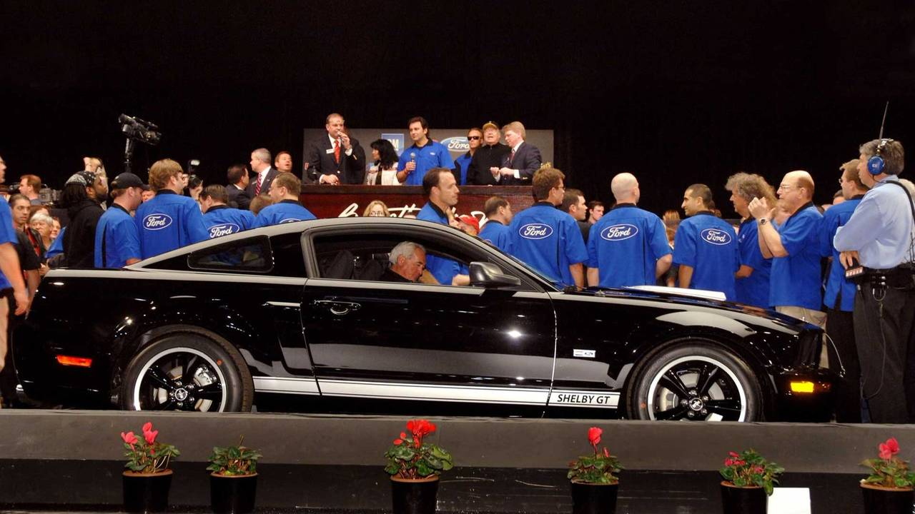 7. 2007 Shelby GT - $660,000