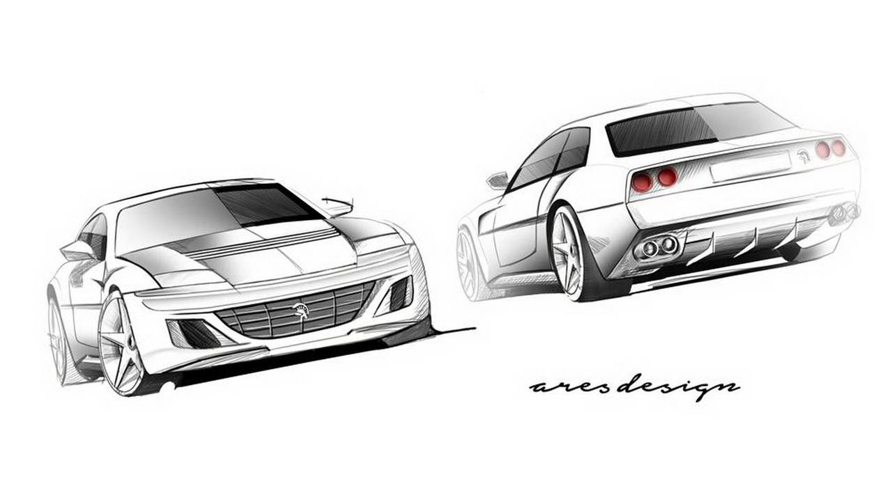 Ares Design Project Pony based on Ferrari GTC4Lusso