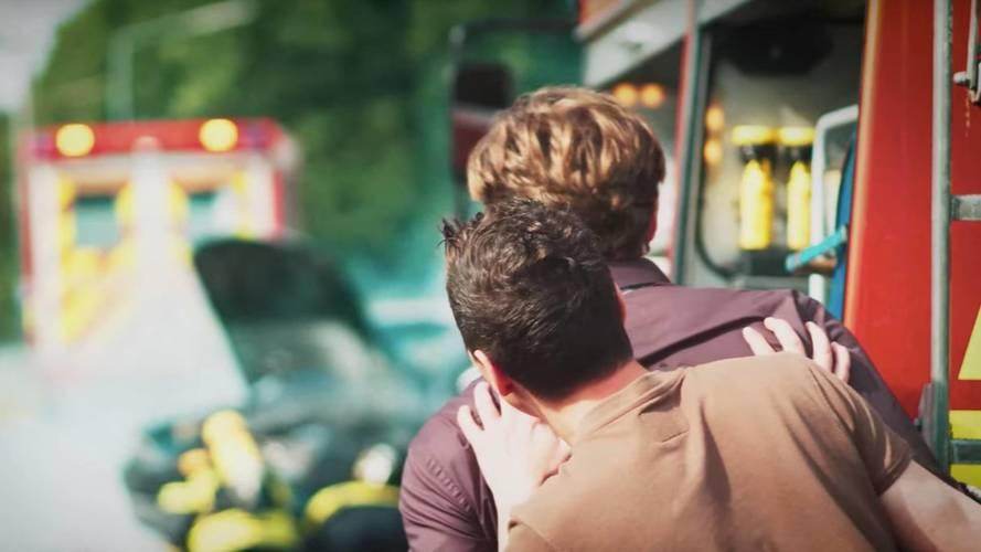 VIDÉO - La campagne allemande contre le voyeurisme des accidents