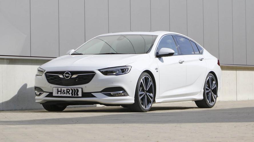 H&R-Sportfedern verleihen dem Opel Insignia mehr Esprit