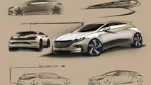 Volkswagen'in yeni tasarım diliyle yeni nesil Scirocco