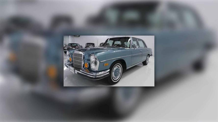 Elvis Presley's 1971 Mercedes 280SEL Will Get You All Shook Up