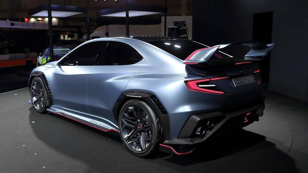 Subaru Viziv Performance concept of STI