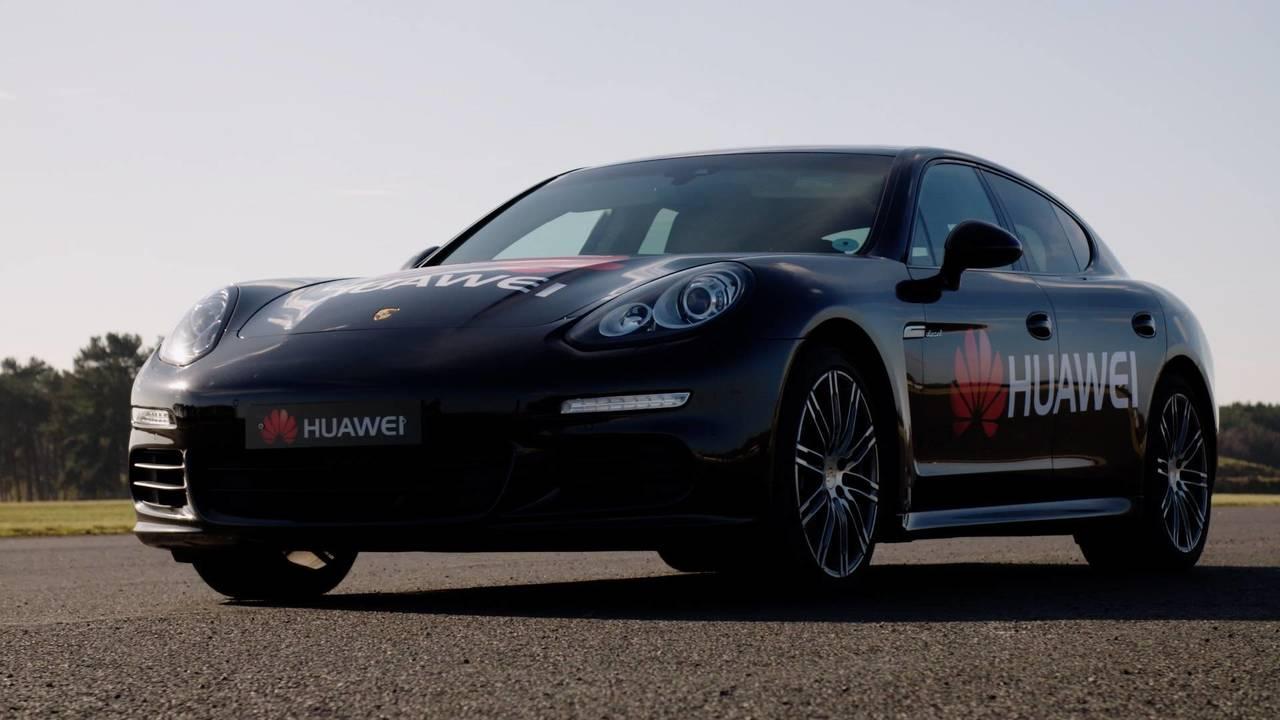 Porsche Panamera Huawei Mate 10 Pro