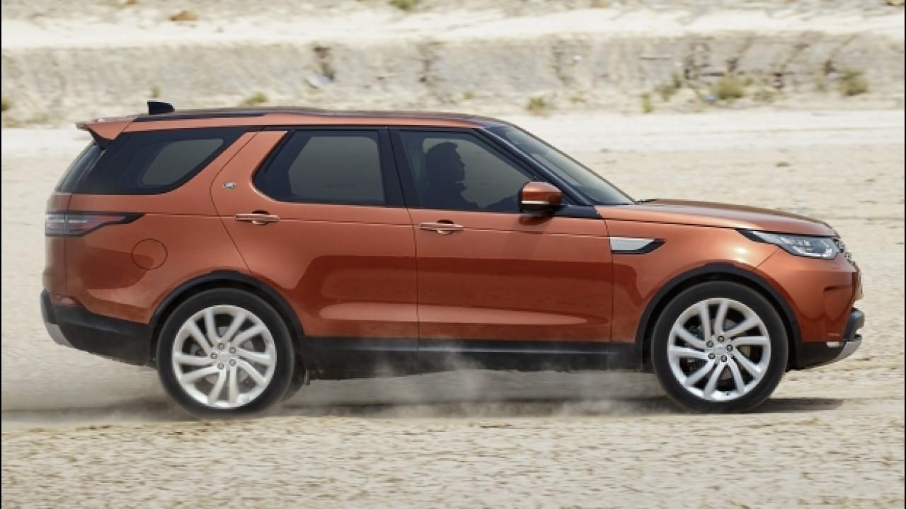 [Copertina] - Nuova Land Rover Discovery, l'off road è hi-tech