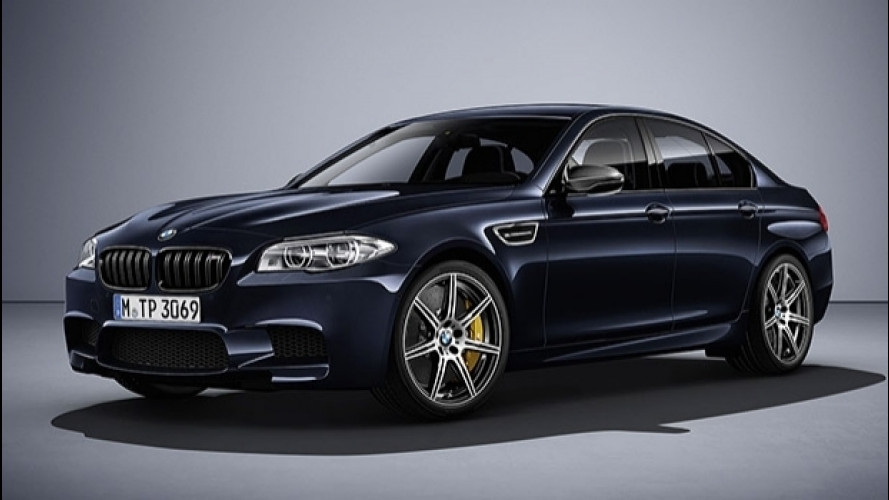 BMW M5 Competition Edition, fine serie da 600 CV