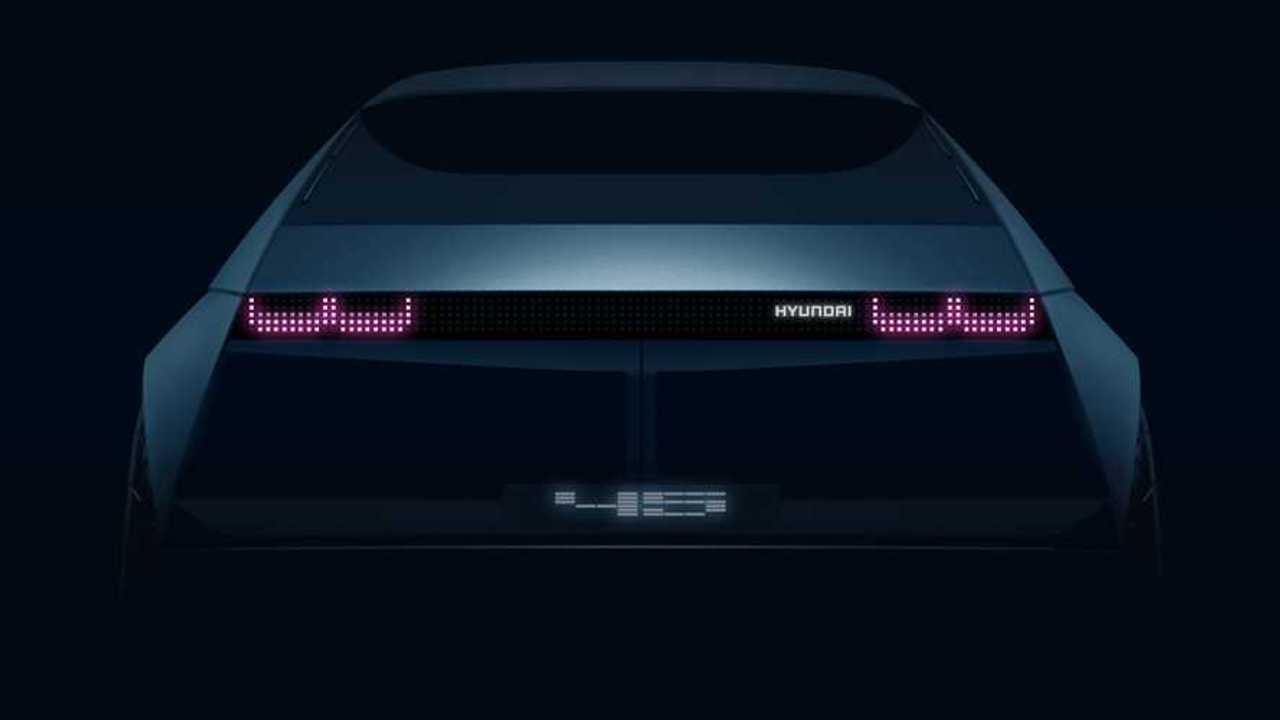 Hyundai 45 Concept, il teaser