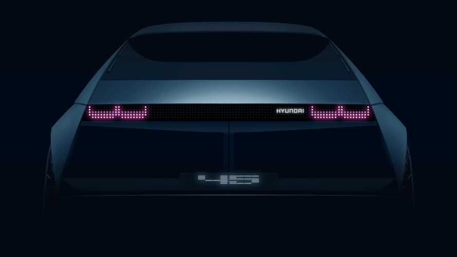 Hyundai 45 Concept, l'elettrica del futuro guarda al passato