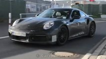 2021 porsche 911 turbo spy video