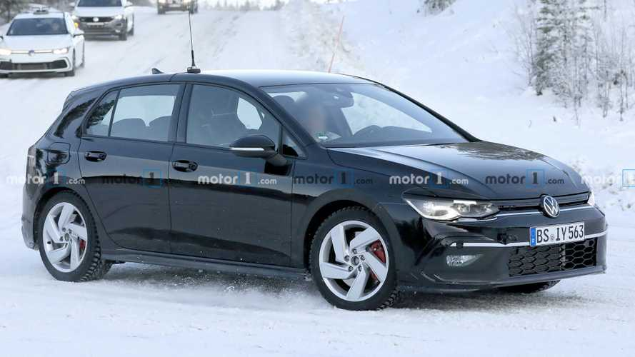 Next-Gen VW Golf GTI Spied Uncovered For First Time