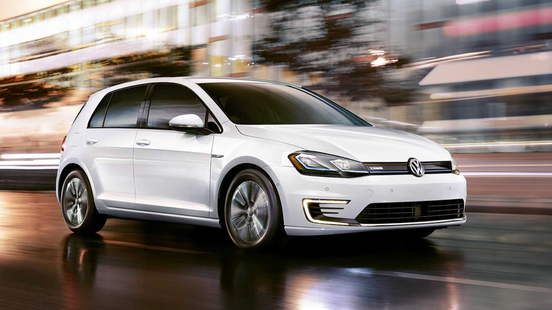 2020 Volkswagen E Golf Quietly Canceled In U S
