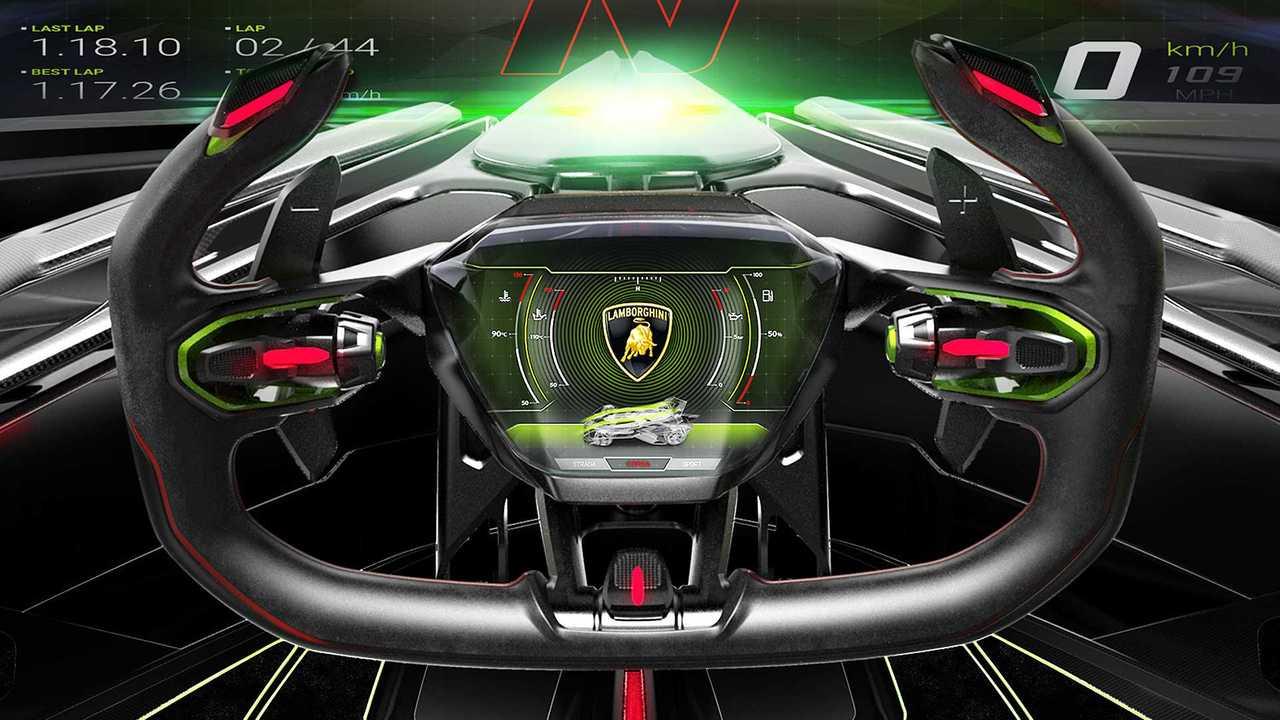 Image result for Lamborghini Lambo V12 Vision GT