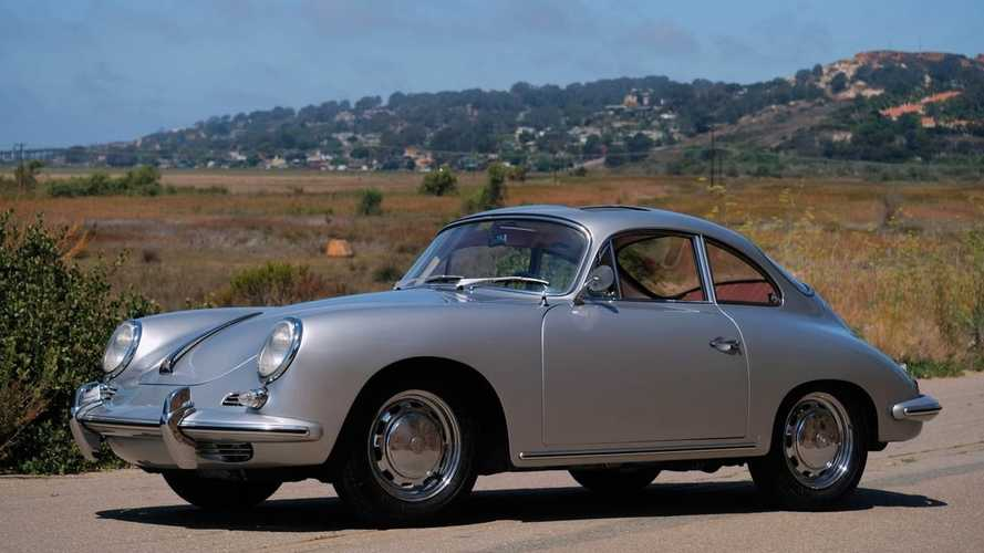 Slip Behind The Wheel Of This 1964 Porsche 356SC Sunroof Coupe