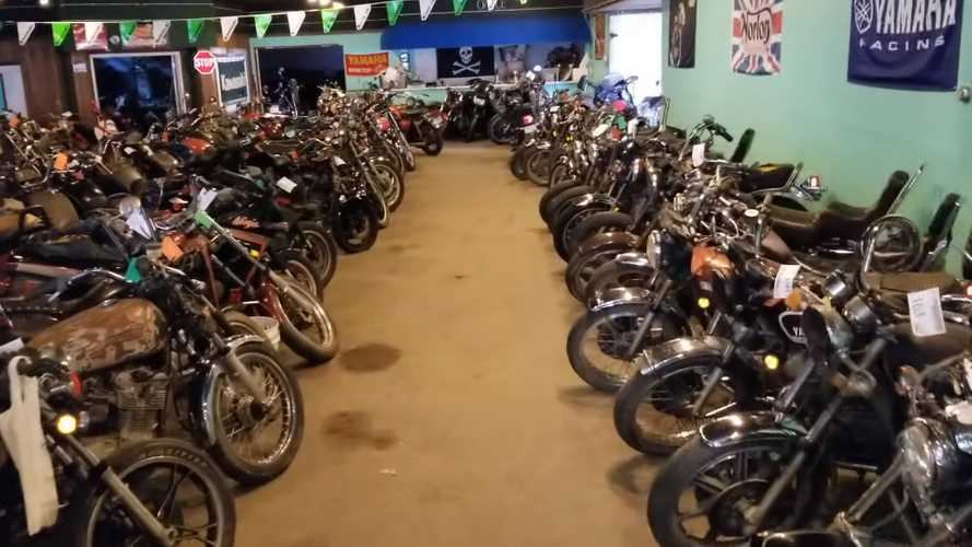 Jaw-Dropping 500-Bike Collection Goes To Auction