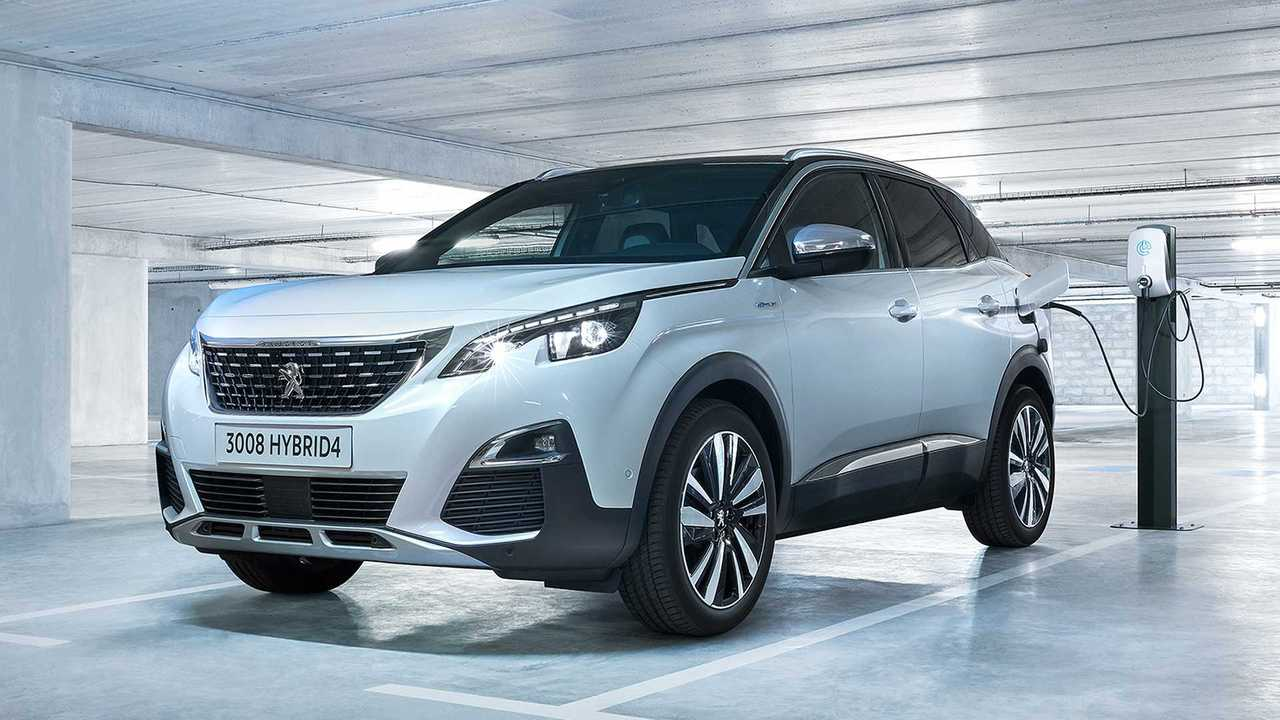 Peugeot 3008 Hybrid und 3008 Hybrid4 (derzeit nicht erhältlich)