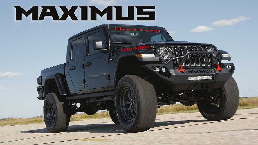 1,000-HP Hennessey Maximus Gladiator Is Heading To SEMA