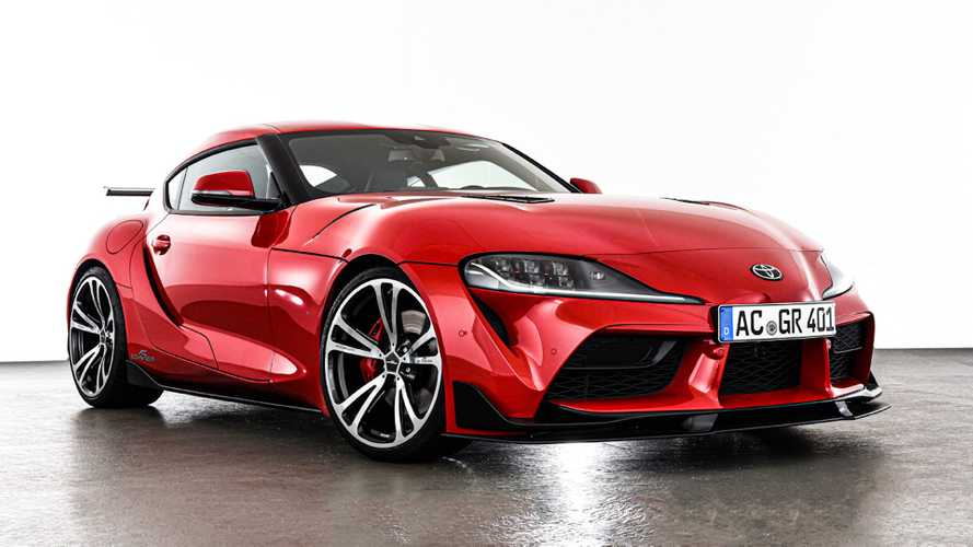 Toyota Supra Muscles Up With AC Schnitzer Kit