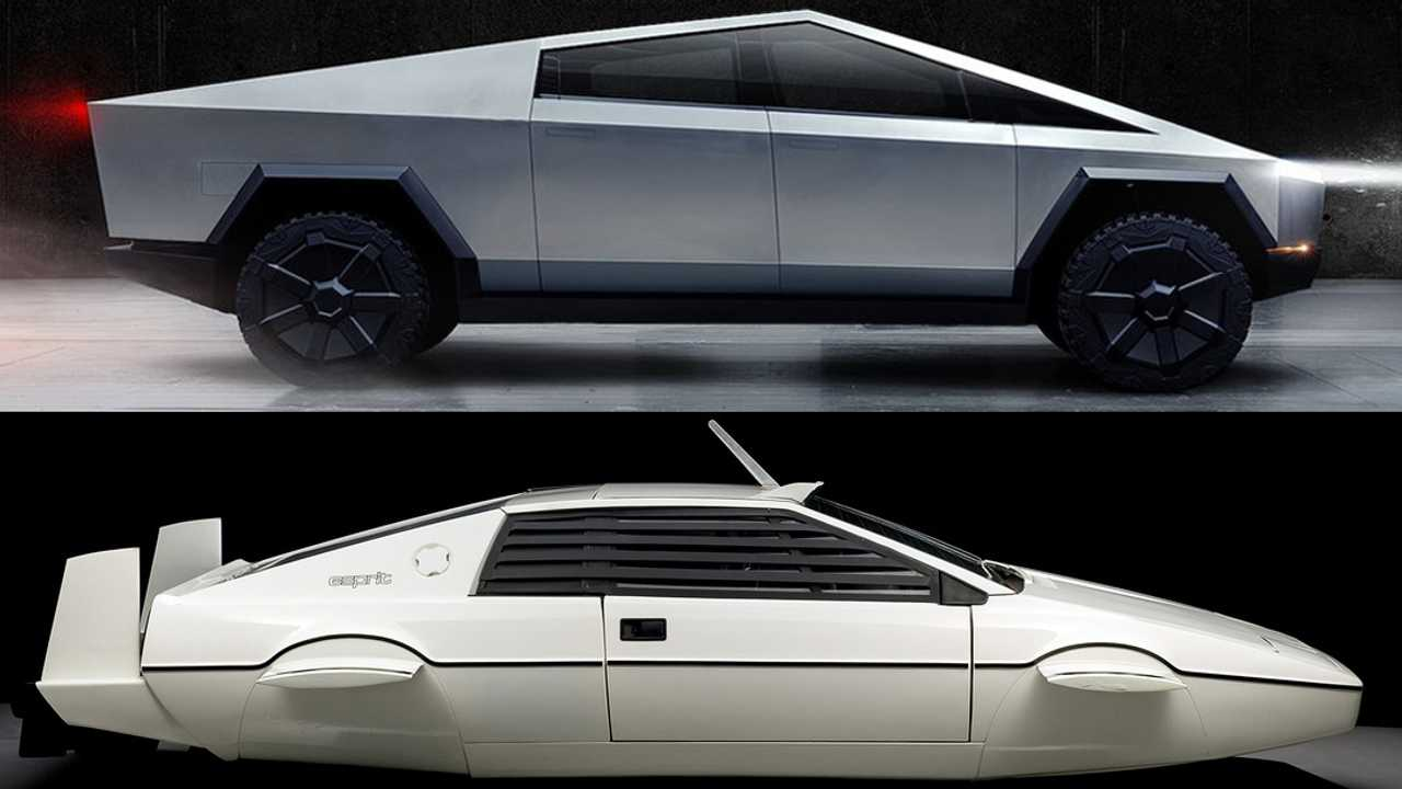 Cybertruck Design Influenced By This James Bond Lotus Submarine