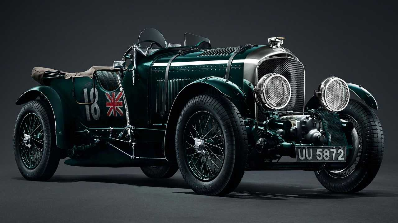 1929 Bentley Supercharged 4½-Litre Blower