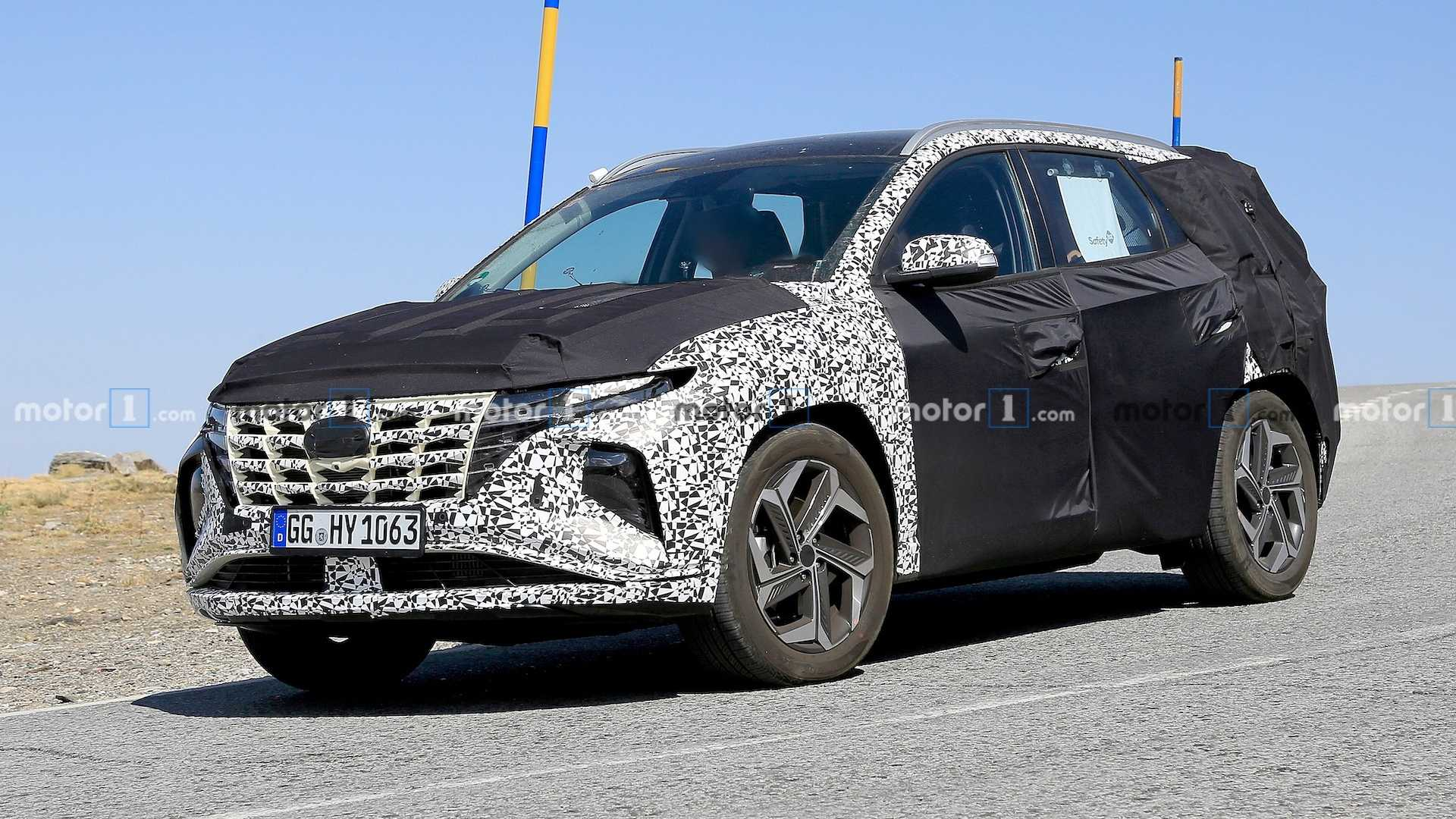 2021 Hyundai Tucson Spied Again Revealing More Details