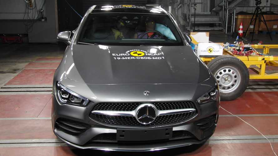 Mercedes duo scoop top ratings in latest Euro NCAP crash tests