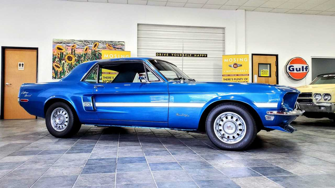 1968 Ford Mustang GT/CS Is One Sweet Pony