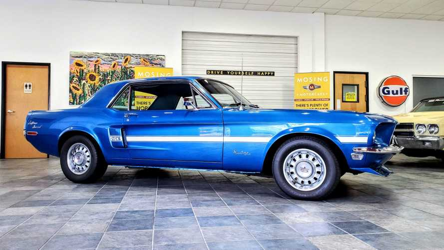 This 1968 Ford Mustang GT/CS Is One Sweet Pony